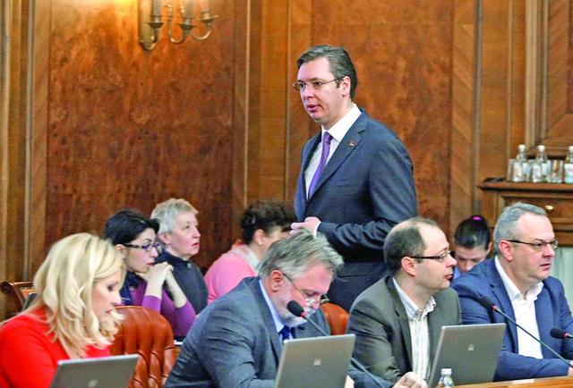 U novoj vladi mesta samo za SNS: Aleksandar Vučić