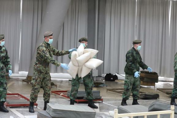 U Beogradu će biti tri improvizovane bolnice
