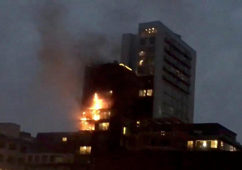 Wielki pożar w wieżowcu