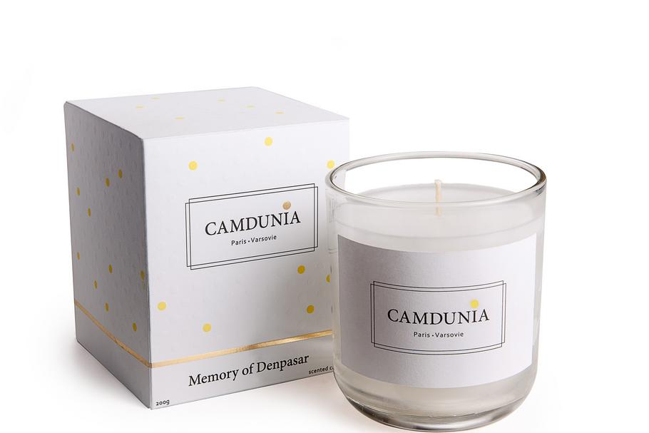 CAMDUNIA CANDLES - IN BOX - LD- DENPASAR