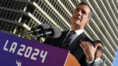 Battle heats up as IOC heads to LA