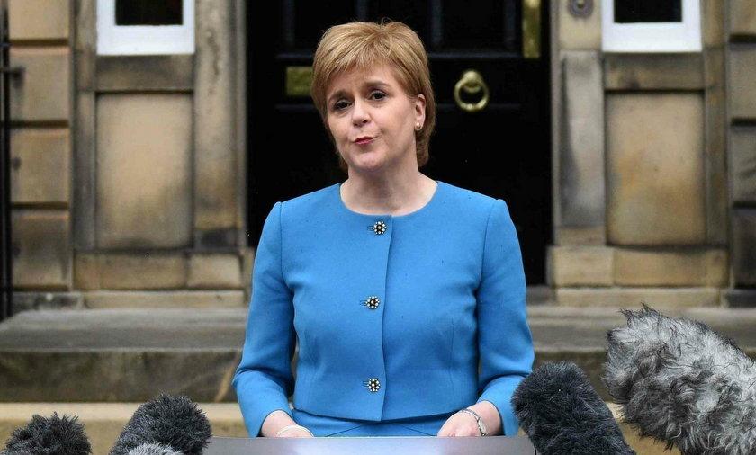 Sturgeon: Szkocja powróci do UE jako niepodległe państwo