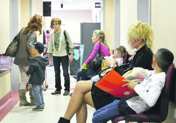 Zbog gripa sve više ljudi u čekaonicama