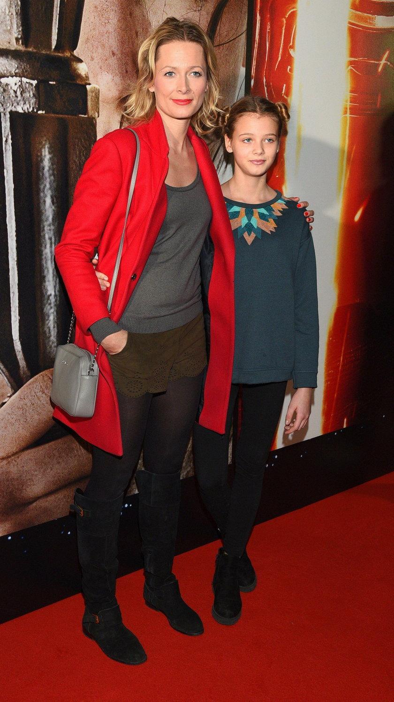 Odeta Moro z córką Sonią