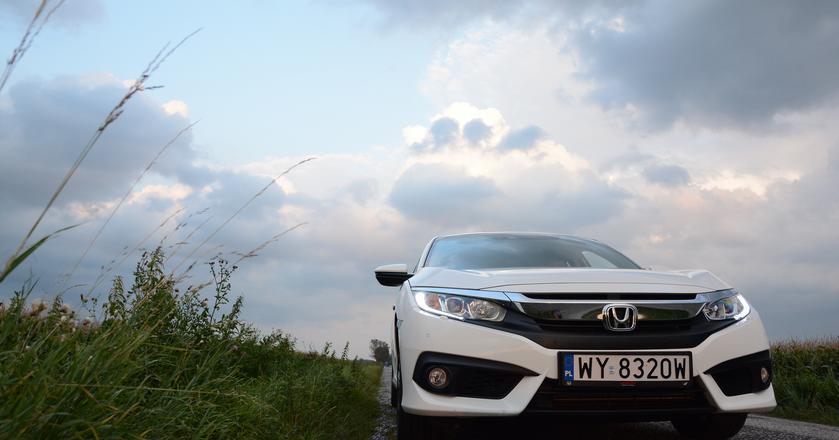 Honda Civic sedan ma więcej charakteru, niżinnikompaktowi konkurenci