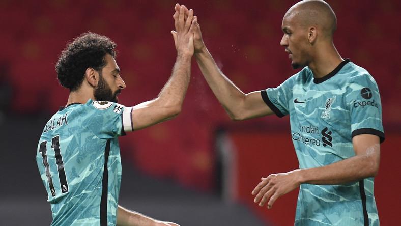 Mohamed Salah (L) i Fabinho