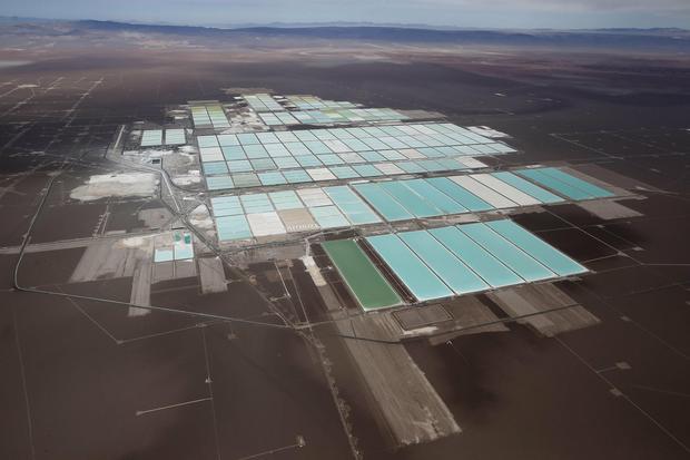 Tak wygląda kopalnia litu w Chile. To właśnie Ameryka Południowa ma największe znane zasoby tego pierwiastka
