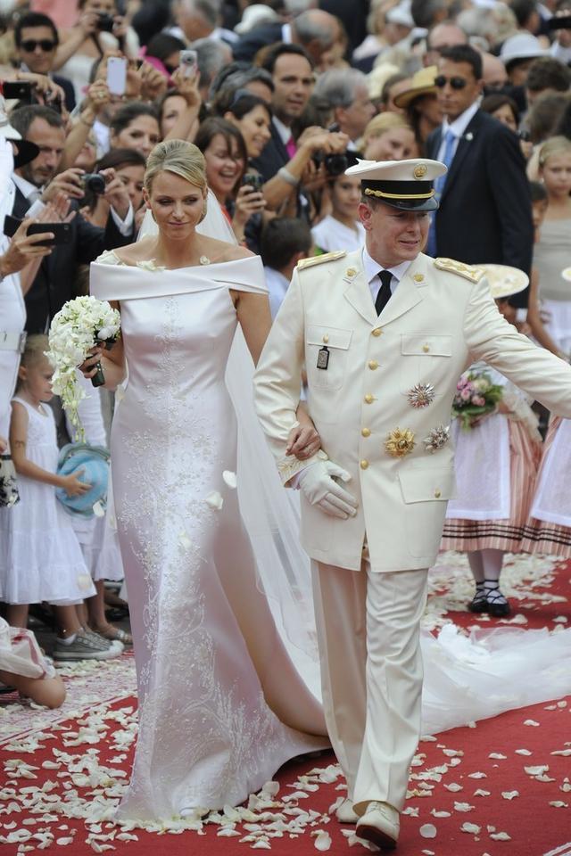 Albert II i Charlene Wittstock