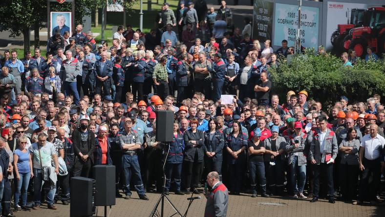 Białoruś protesty. Mińsk
