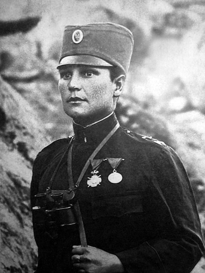 Milunka Savić se iz bolnice vratila na Solunski front 1916. godine