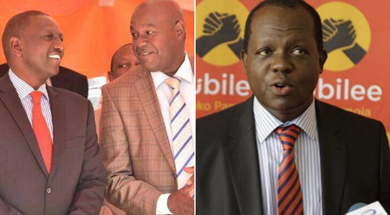 DP Ruto's camp announces plan to deal with Tuju after failed changes in Jubilee