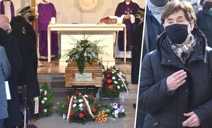 Zofia Romaszewska nie wpuszczona na pogrzeb Jana Lityńskiego. Premier Morawiecki modlił się na chodniku.