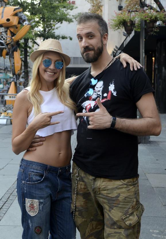 Ne žele više da kriju ljubav: Milica Todorović i Miloš Paunović