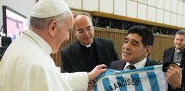 Z czego wyspowiadał się Maradona u Papieża?