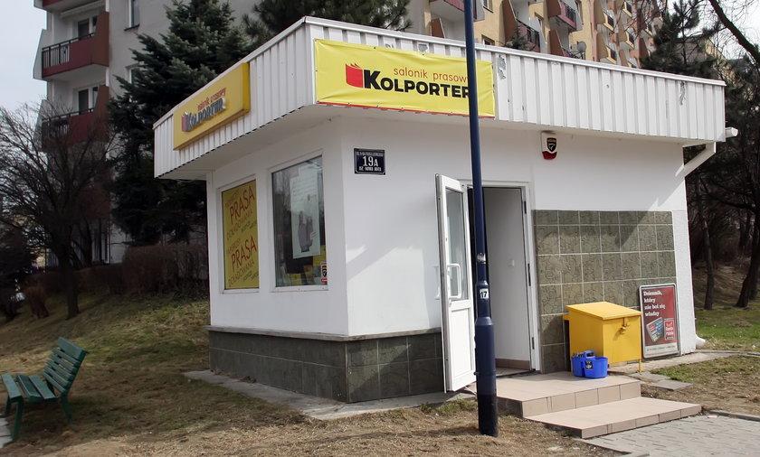 Kiosk Kolporter
