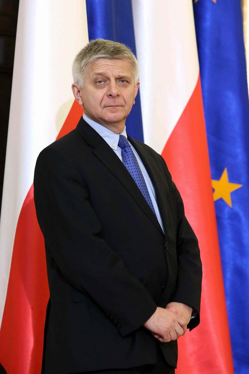 Prezes BP Marek Belka