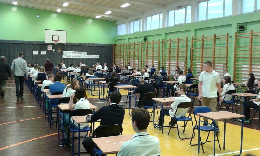 Próbny egzamin w gimnazjach