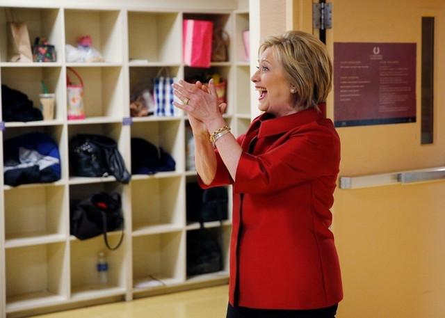 Hilari Klinton AP