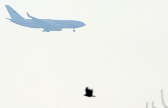 Avion kojim je u Beograd doleteo ruski premijer Vladimir Putin