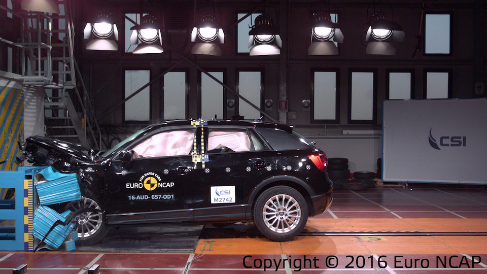 Euro NCAP crash test