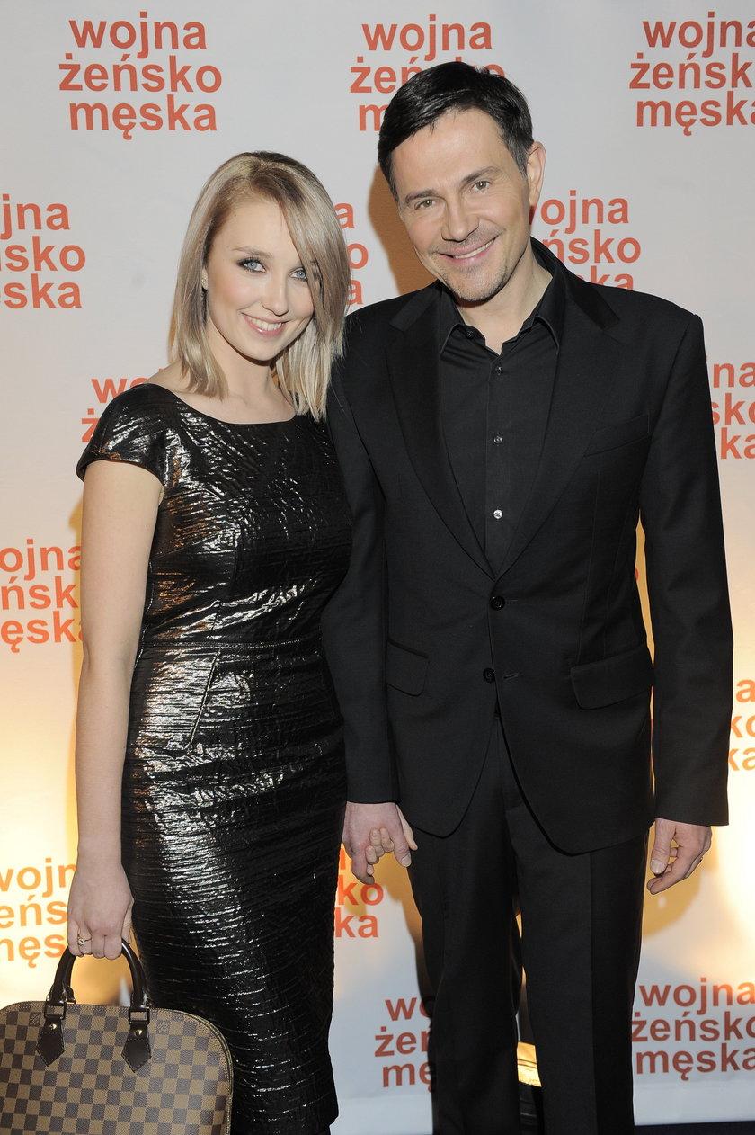 Krzysztof Ibisz i Paulina Piosik