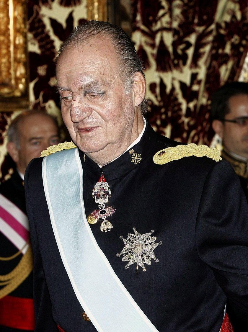 Juan Carlos w 2011 r.