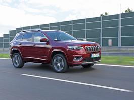 Jeep Cherokee Overland – terenówka na luksusowo