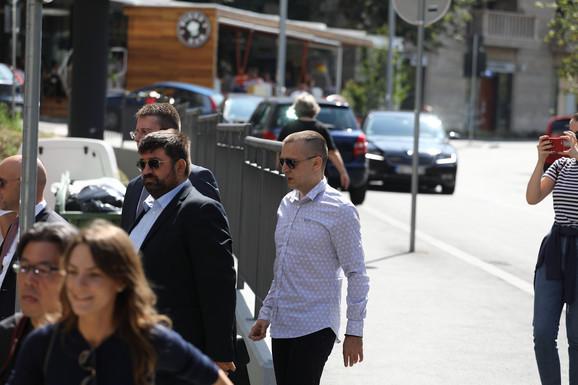Zoran Marjanović stigao u sud