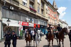 Subotica, Vlada, Godinu dana, Vojska, Policija, Vežba