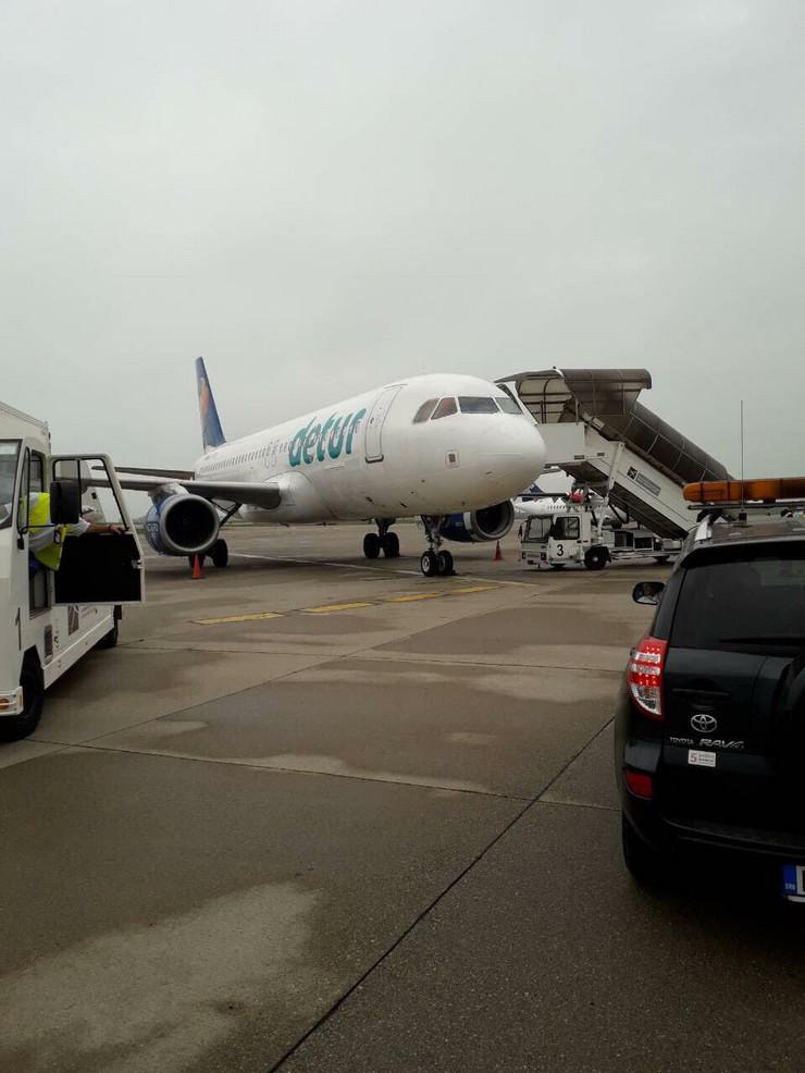 avion, aerodrom nikola tesla