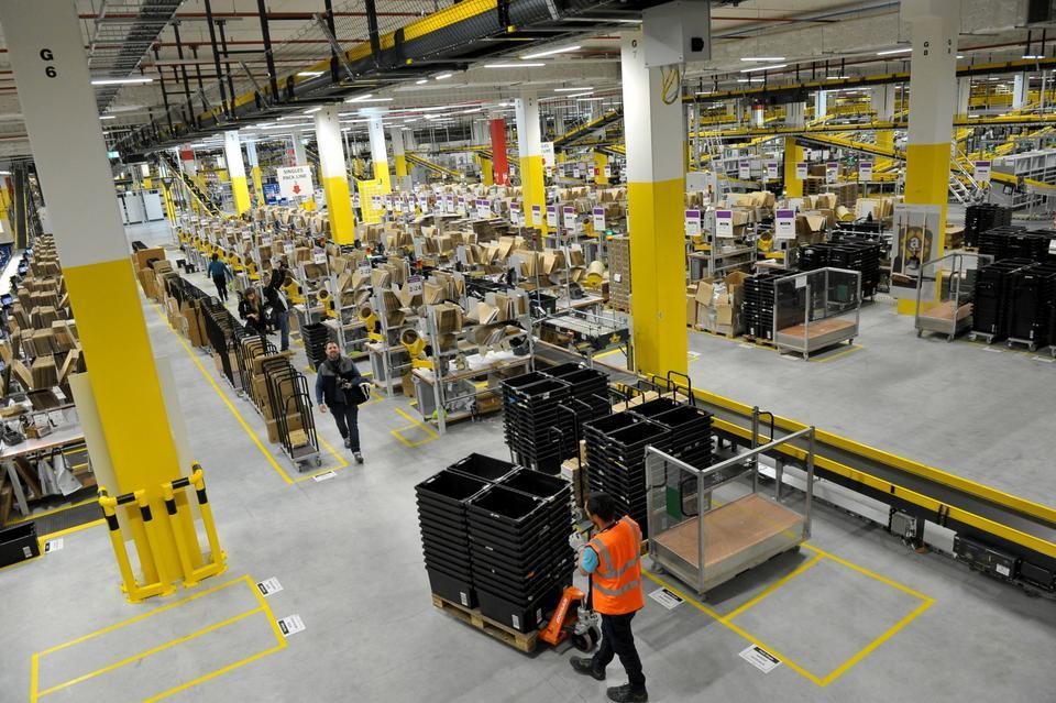 Jest to najbardziej zaawansowany technologicznie budynek Amazon w Europie.