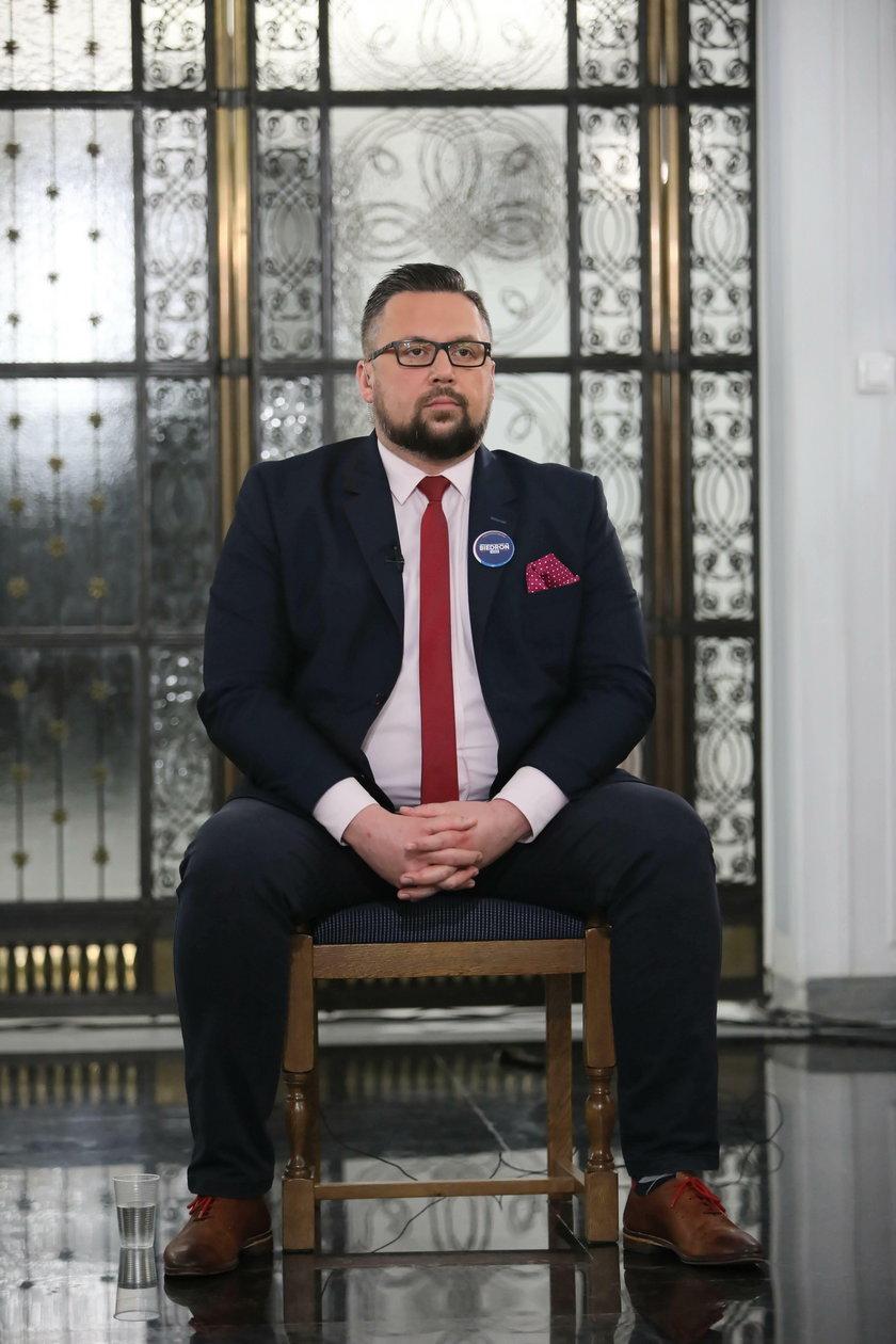 Marcin Kulasek w Sejmie