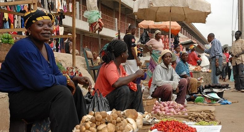 Ghanaian market women