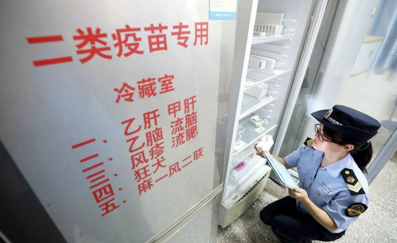 Kontrola w poszukiwaniu wadliwych chińskich szczepionek przeciwko wściekliźnie