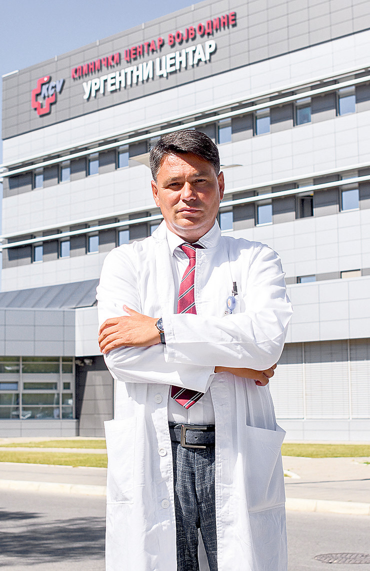 Novi Sad doktor Dragan Nikolic upravnik urgentnog centra