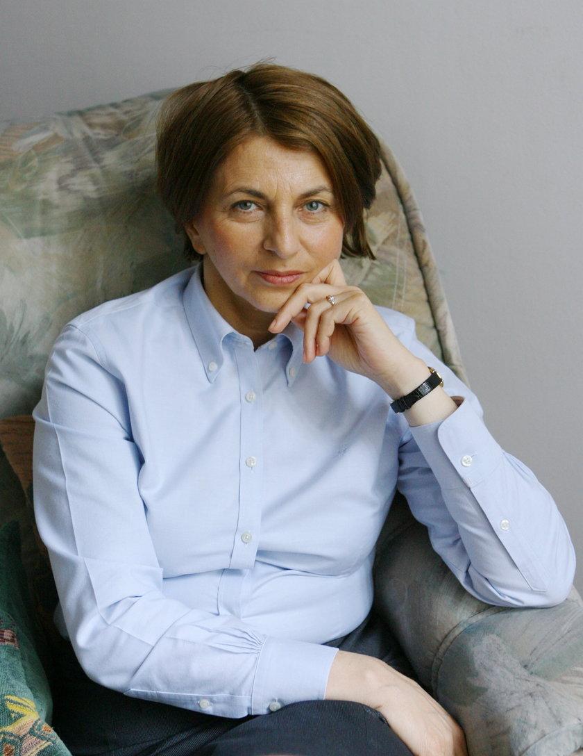 Julia Pitera, była wiceminister ds, zwalczania korupcji z PO.