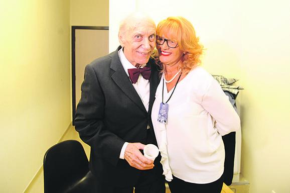 Predrag Zivkovic Tozovac sa suprugom