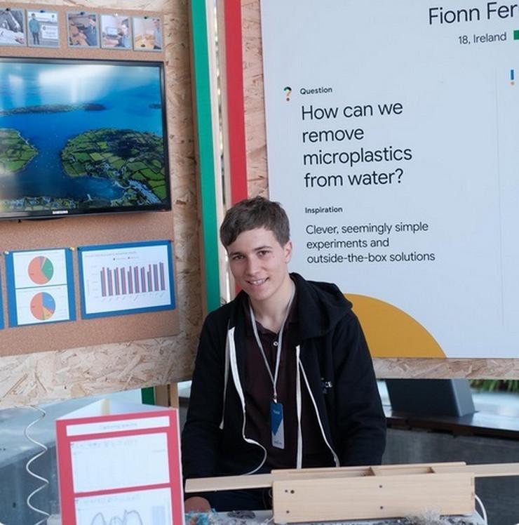 """Fion Fereira je za svoj projekt osvojio prvu nagradu na """"Guglovom sajmu nauke"""""""