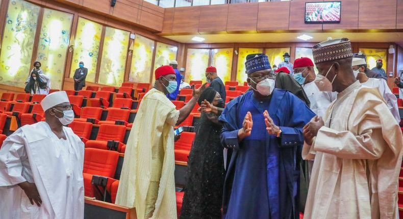 Nigerian senators [Tope Brown]