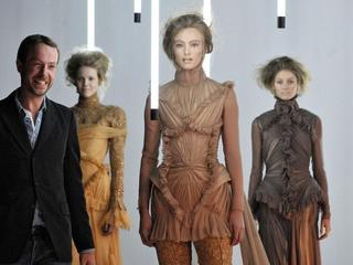 Haute Couture Paris Fashion Week, Dutch designer Jan Taminiau