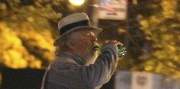 Słynny aktor pije po nocy