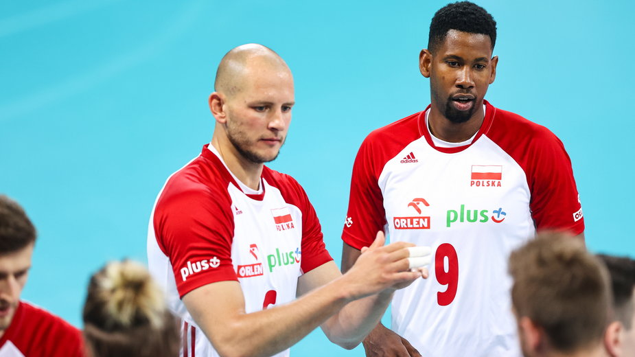 Bartosz Kurek i Wilfredo Leon (reprezentacja Polski)