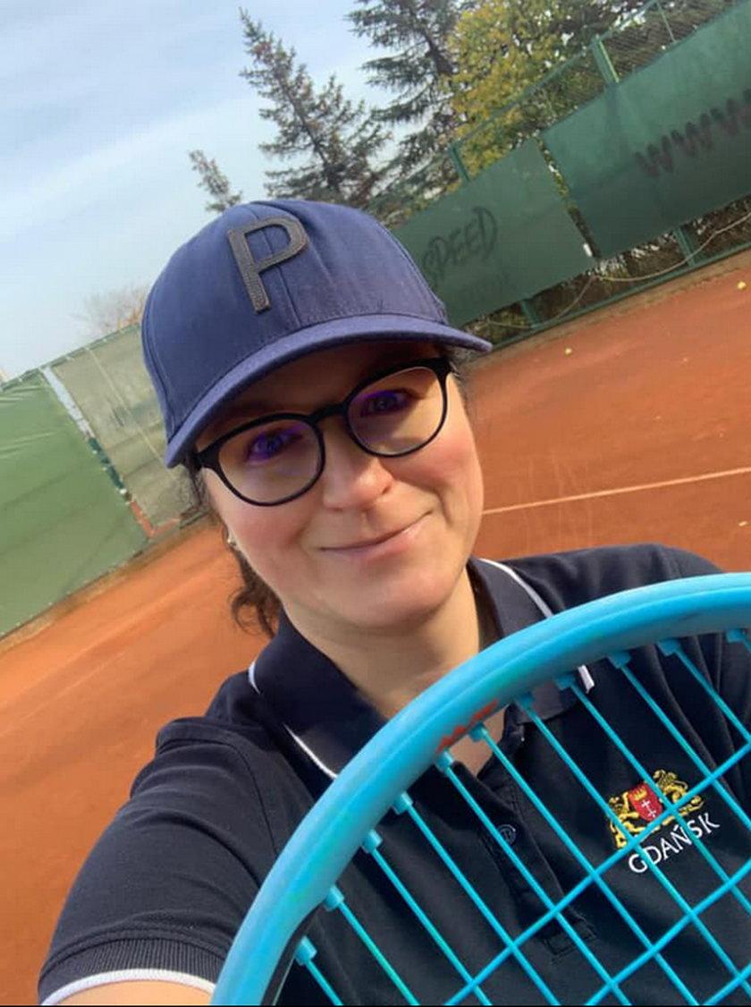 Lepiej grać w tenisa - to jedno z noworocznych postanowień prezydent Gdańska.