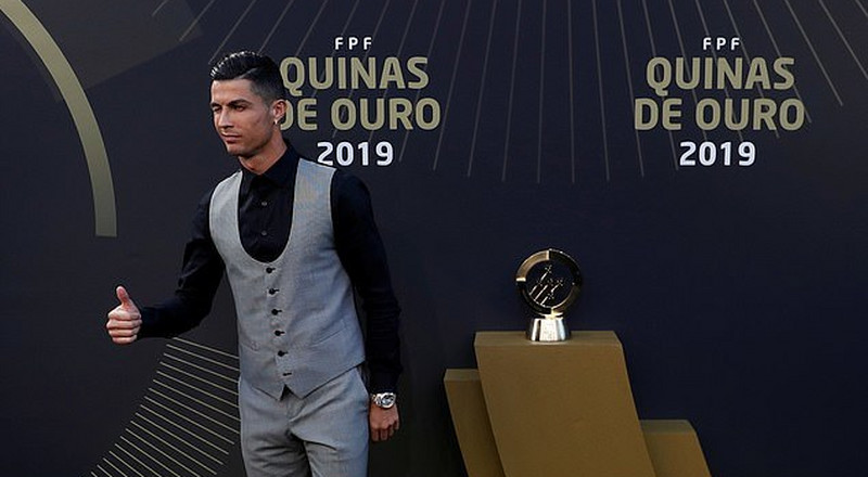 Cristiano Ronaldo wins Portuguese Player of the Year for the 10th time