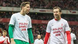 Szalone wideo Grzegorza Krychowiaka i Wojciecha Szczęsnego. Tak świętują awans na mundial
