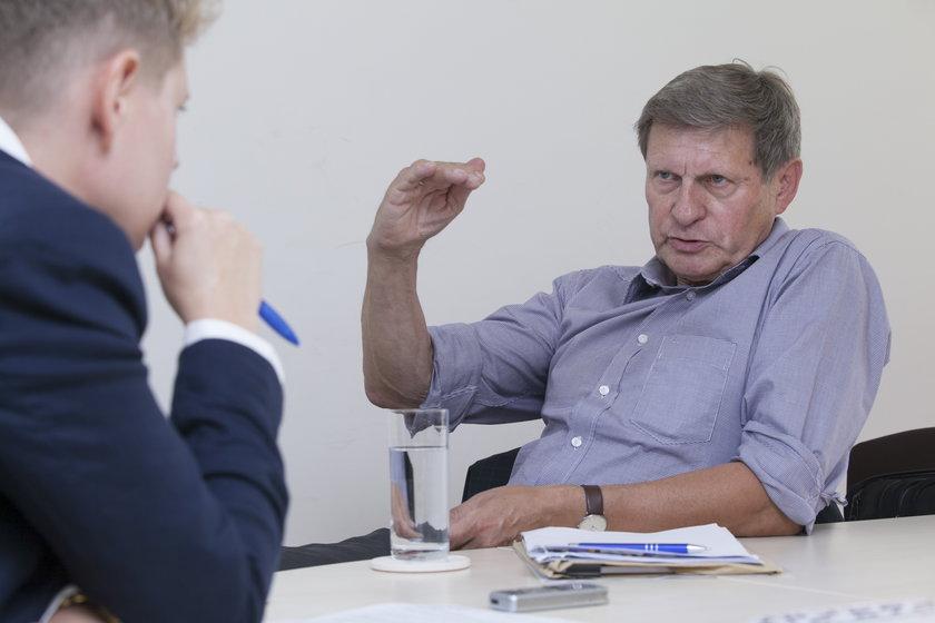 Leszek Balcerowicz, były wicepremier z Unii Wolności i były prezes NBP