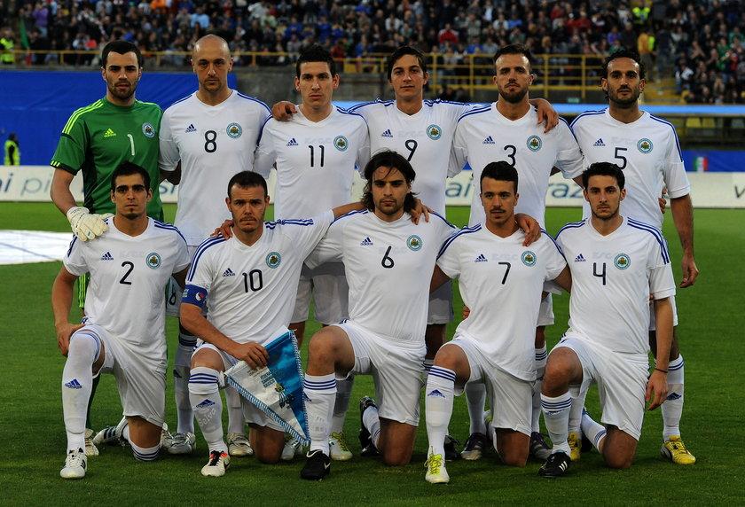 Mecz eliminacji do mistrzostw świata w Brazylii San Marino - Polska