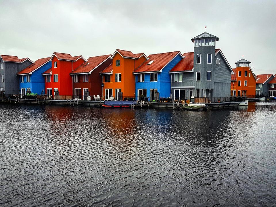Groningen – 200-tysięczne miasto w północnej Holandii. Jego mieszkańcy należą do najbardziej zadowolonych w Europie.