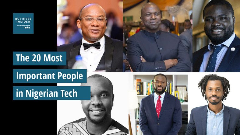 The 20 most important people in Nigerian tech - Pulse Nigeria