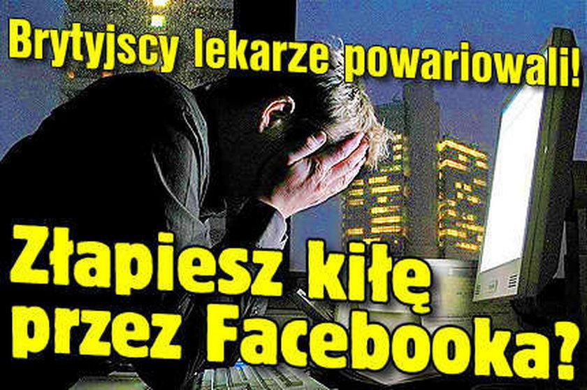 Zarazisz się kiłą przez Facebooka?!